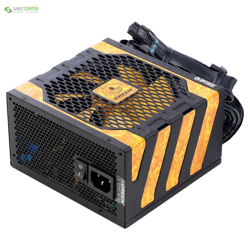 104842منبع تغذیه گرین GP650A-UK PLUS