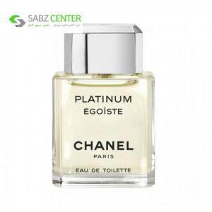 ادو تویلت مردانه شانل مدل Egoiste Platinum حجم 100 میلی لیتر Chanel Egoiste Platinum Eau De Toilette For Men 100ml - 0