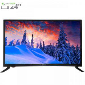 تلویزیون ال ای دی ایکس ویژن مدل 24XS460 سایز 24 اینچ - 0