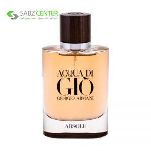 ادو پرفیوم مردانه جورجیو آرمانی مدل Acqua Di Gio Absolu حجم 75 میلی لیتر - 0