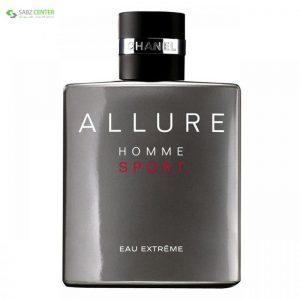 ادو پرفیوم مردانه شانل مدل Allure Homme Sport Eau Extreme حجم 150 میلی لیتر Chanel Allure Homme Sport Eau Extreme Eau De Parfum For Men 150ml - 0