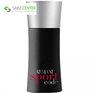 ادو تویلت مردانه جورجیو آرمانی مدل Armani Code Sport حجم 75 میلی لیتر - 0