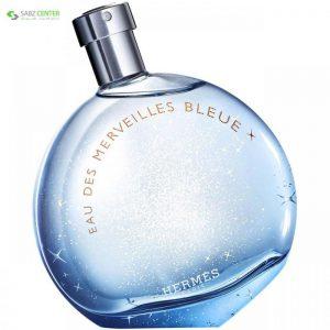 ادو تویلت زنانه هرمس مدل Eau des Merveilles Bleue حجم 100 میلی لیتر - 0