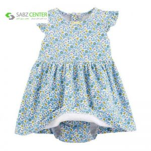 ست کت پیراهن نوزادی دخترانه کارترز982