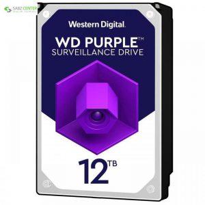 هارددیسک اینترنال وسترن دیجیتال مدل Purple WD121PURZ ظرفیت 12 ترابایت - 0