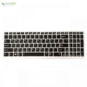محافظ کیبورد با حروف فارسی مدل Crystal Guard مناسب برای لپ تاپ ایسوس - 0