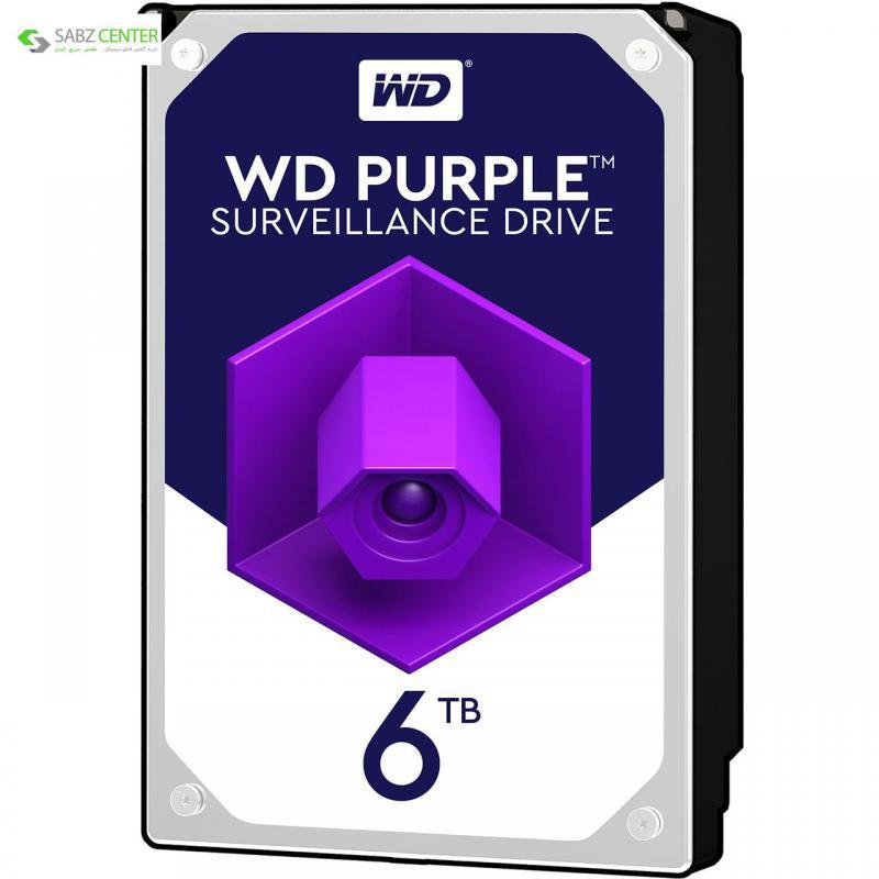 115082هارددیسک اینترنال وسترن دیجیتال Purple WD60PURX ظرفیت6