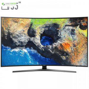 تلویزیون ال ای دی هوشمند خمیده سامسونگ مدل 55NU7950 سایز 55 اینچ - 0