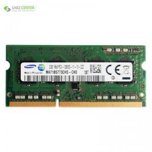 رم لپتاپ DDR3 تک کاناله 1600 مگاهرتز CL11 سامسونگ مدل 1Rx8 ظرفیت 2 گیگابایت - 0