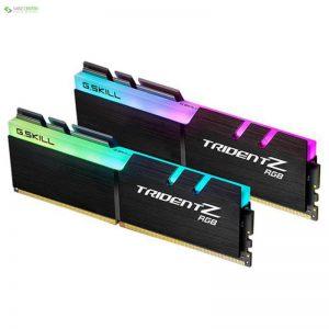 رم دسکتاپ DDR4 جی اسکیل TRIDENT Z RGB 32GB دو عددی