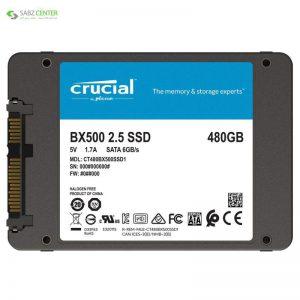 اس اس دی اینترنال کروشیال BX500 480GB