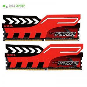 رم دسکتاپ DDR4 دو کاناله 3200 مگاهرتز CL16 گیل مدل Evo Forza ظرفیت 16 گیگابایت - 0