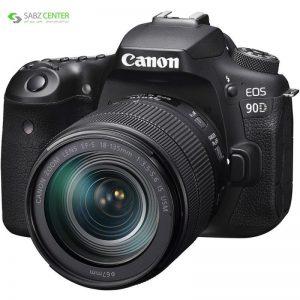 دوربین دیجیتال کانن مدل EOS 90D به همراه لنز 135-18 میلی متر IS USM - 0