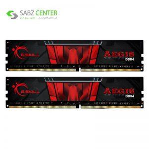 رم دسکتاپ DDR4 دو کاناله 3200 مگاهرتز CL16 جی اسکیل مدل aegis ظرفیت 16 گیگابایت - 0