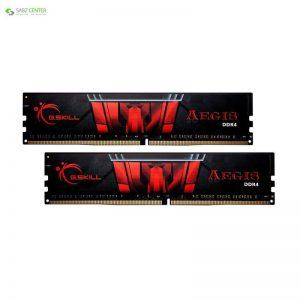 رم دسکتاپ DDR4 دو کاناله 3000 مگاهرتز CL16 جی اسکیل مدل Aegis ظرفیت 16 گیگابایت - 0