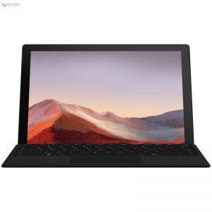 تبلت مایکروسافت مدل Surface Pro 7 - B به همراه کیبورد Black Type Cover - 0