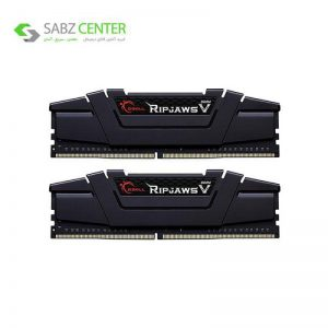 رم دسکتاپ DDR4دوکاناله 4000 مگاهرتز جی.اسکیلCL18 مدل RIPJAWS V ظرفیت 16گیگابایت - 0