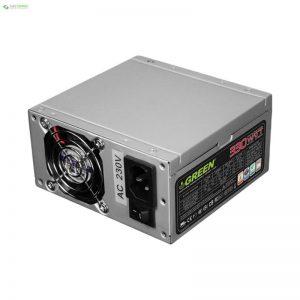 منبع تغذیه کامپیوتر گرین مدل GP330S - 0