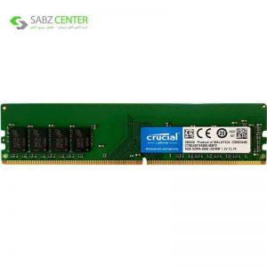 رم دسکتاپ DDR4 تک کاناله 2666 مگاهرتز CL19 کروشیال مدل CT8G4DFS8266 ظرفیت 8 گیگابایت - 0