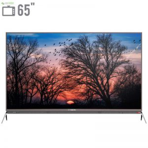 تلویزیون ال ای دی هوشمند ایکس ویژن مدل 65XKU635 سایز 65 اینچ - 0