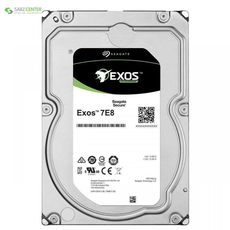 122341هارددیسک اینترنال سیگیت Exos ST8000NM000A 8TB