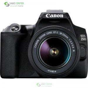 دوربین دیجیتال کانن EOS 250D با لنز 18-55میلیمتر DC III