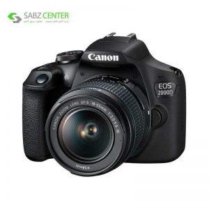 دوربین دیجیتال کانن EOS 2000D با لنز 18-5میلیمتر DC III