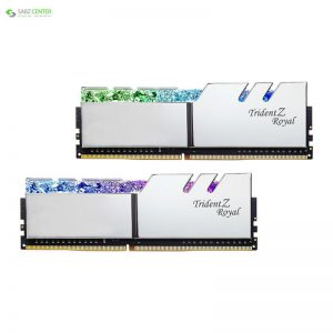 رم دسکتاپ DDR4 جی اسکیل Trident Z Royal Silver 16GB