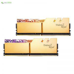 رم دسکتاپ DDR4 جی اسکیل Trident Z Royal Gold ظرفیت 32GB