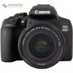 دوربین دیجیتال کانن EOS 850D با لنز 18-135mm IS USM