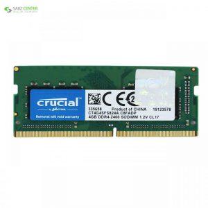 رم لپ تاپ کروشیال DDR4،2400MHZ 4GB