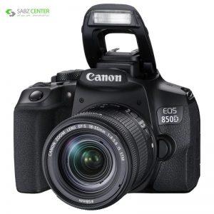 دوربین دیجیتال کانن EOS 850D با لنز 55-18mm IS STM