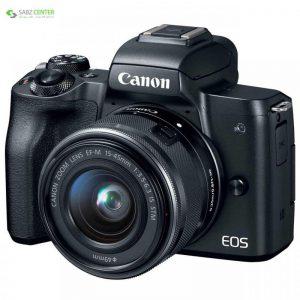 دوربین دیجیتال بدون آینه کانن EOS M50 با لنز