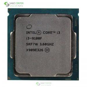 پردازنده مرکزی اینتل سریCoffee Lake مدلCorei3-9100F Tray
