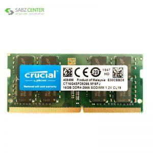 رم لپ تاپ DDR4 کروشیال مدل SO_DIMM 16GB