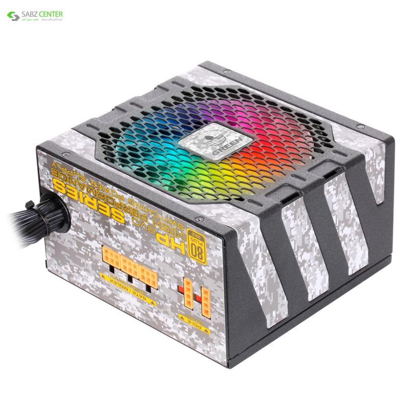 132857منبع تغذیه گرین GP600B-HP EVO
