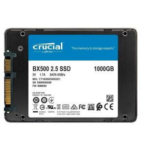 اس اس دی کروشیال Crucial BX500 1000GB SSD