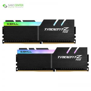 رم دسکتاپ DDR4 جی اسکیل TRIDENT Z RGB 32GB