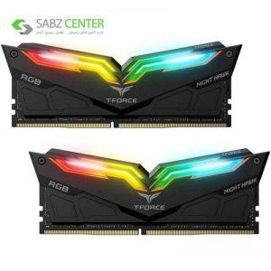 رم دسکتاپ DDR4 تیم گروپ T-FORCE NIGHT HAWK RGB 16GB