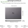 لپ تاپ 13 اینچی هوآوی مدل MateBook 13 2020 - A - 6