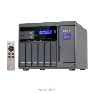 QNAP TVS-882-i3-8G NAS
