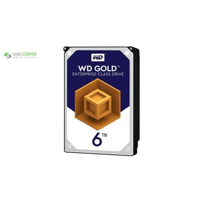 هارددیسک اینترنال وسترن دیجیتال مدل Gold WD6002FRYZ ظرفیت 6 ترابایت  - 0