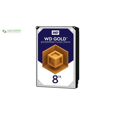 هارددیسک اینترنال وسترن دیجیتال مدل Gold WD8002FRYZ ظرفیت 8 ترابایت  - 0