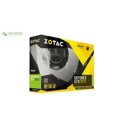 کارت گرافیک زوتک مدل GTX 1070 AMP EDITION 8GB - 0