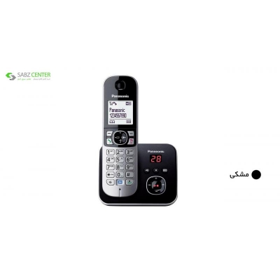 تلفن بی سیم پاناسونیک مدل KX-TG6821 | Panasonic KX-TG6821 Wireless Phone