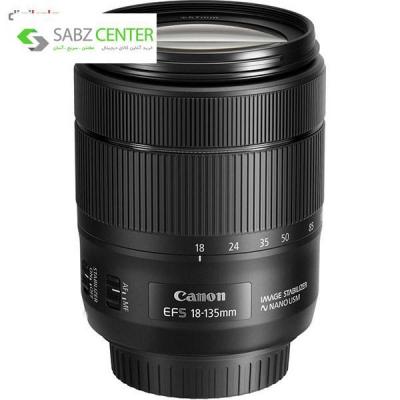لنز دوربین کانن مدل 18-135 میلی متر IS USM - 0