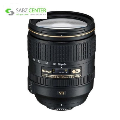 لنز دوربین نیکون AF-S 24-120mm F/4G ED VR - 0