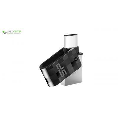 فلش مموری OTG سیلیکون پاور مدل Mobile C31 ظرفیت 64 گیگابایت - 0