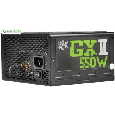 منبع تغذیه کامپیوتر کولر مستر مدل GXII ver.2 550W - 0