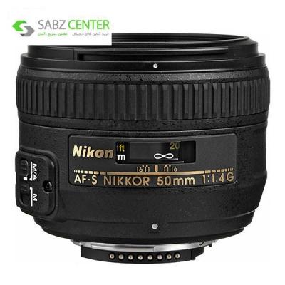 لنز نیکون مدل 50mm f/1.4G AF-S - 0